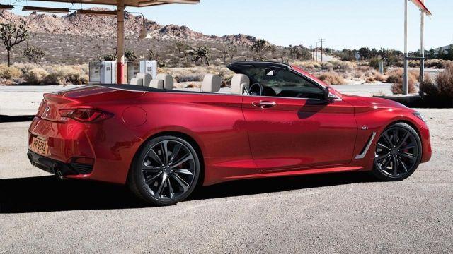 2019 Infiniti Q60 convertible view