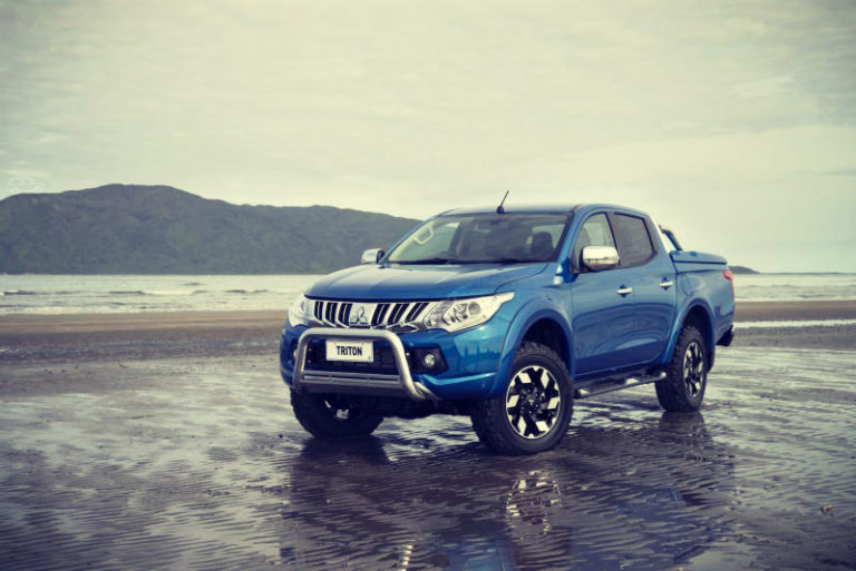 2019 Mitsubishi Triton shares many similarities with model Nissan Navara