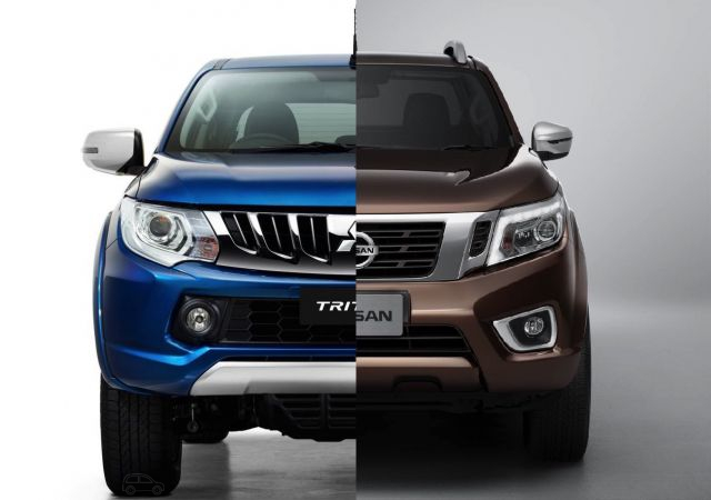 2019 Mitsubishi Triton vs Nissan Navara