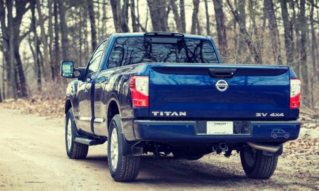 2019 Nissan Titan rear view
