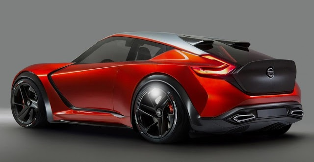 2019 Nissan Z rear view