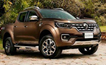 2019 Renault Alaskan front look
