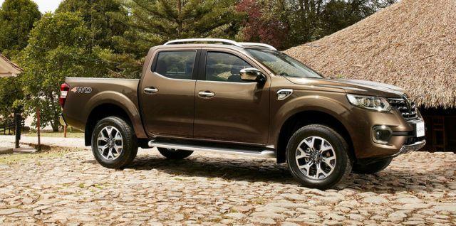 2019 Renault Alaskan side look
