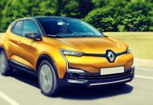 2019 Renault Captur front