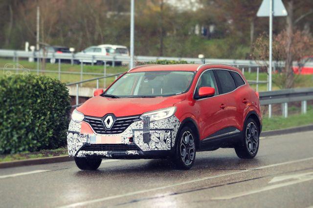 2019 Renault Kadjar front
