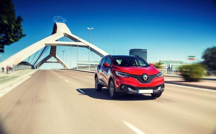 2019 Renault Kadjar front look