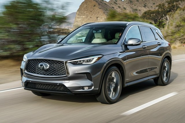 2019 infiniti qx50 front view