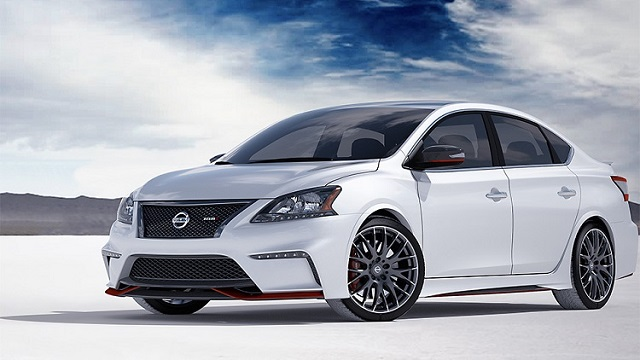 2019 nissan sentra front view