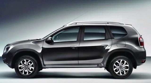 2019 nissan terrano side view