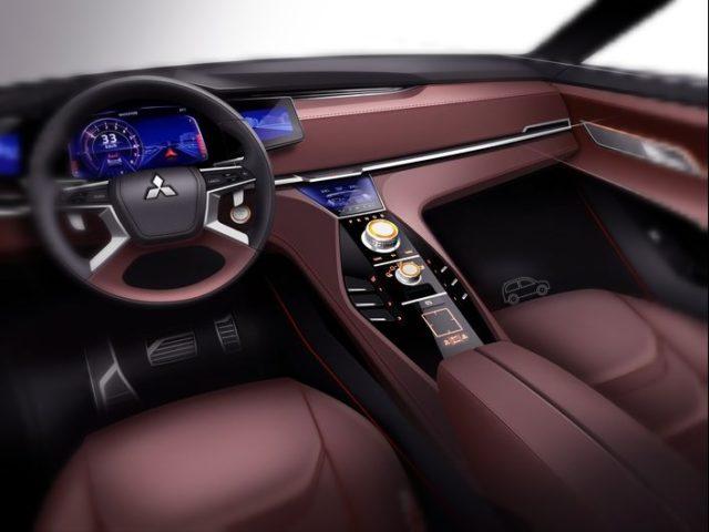 Mitsubishi GT-PHEV interior