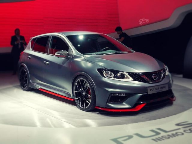 2019 Nissan Pulsar Nismo front