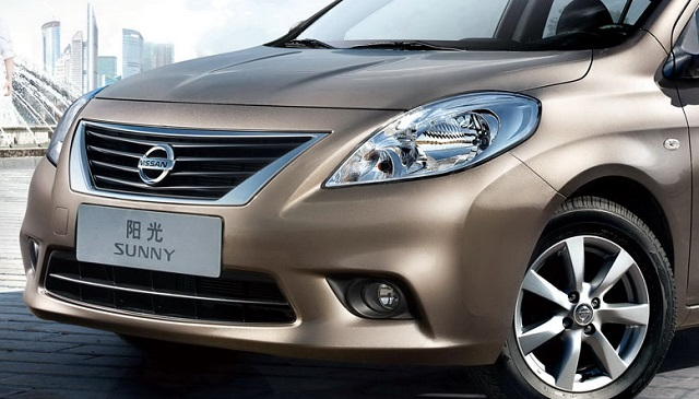 2019 Nissan Sunny front view