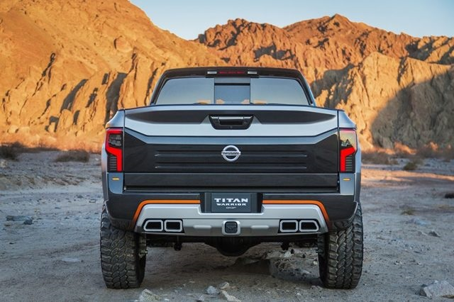 2019 Nissan Titan NISMO rear view