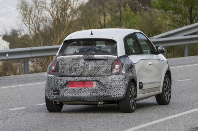 2019 Renault Twingo rear view