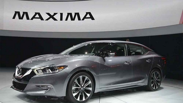 2019 nissan maxima front view