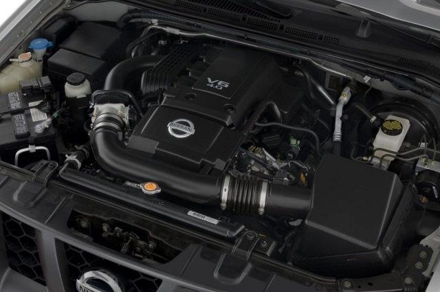 2019 nissan xterra engine