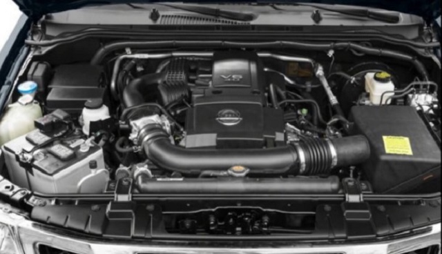 2020 Nissan Frontier engine