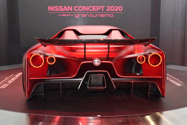 2020 nissan gt rear view