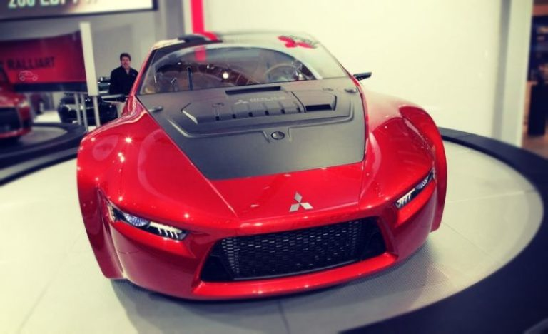 Mitsubishi concept RA is the new sporty two-seat coupe