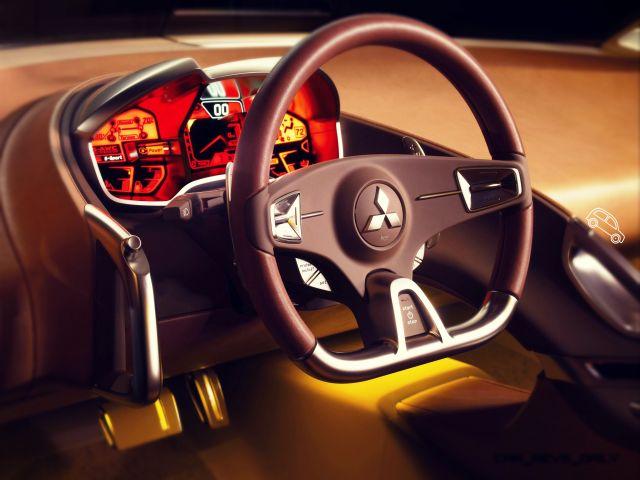 Mitsubishi concept RA interior