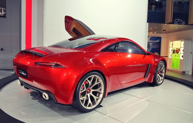 Mitsubishi concept RA rear