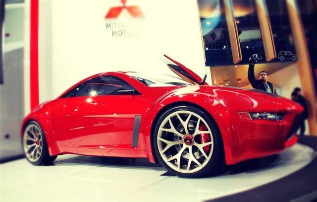 Mitsubishi concept RA side