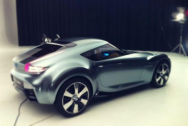 Nissan Esflow rear