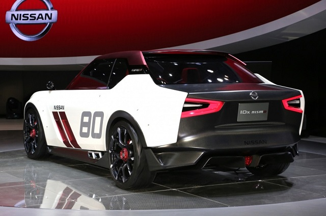 Nissan IDX Nismo concept rear view