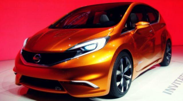 Nissan Invitation concept front