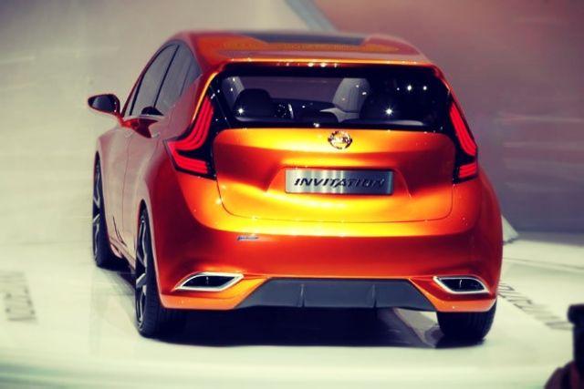 Nissan Invitation concept rear