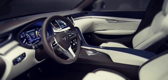2019 Infiniti QX70 interior