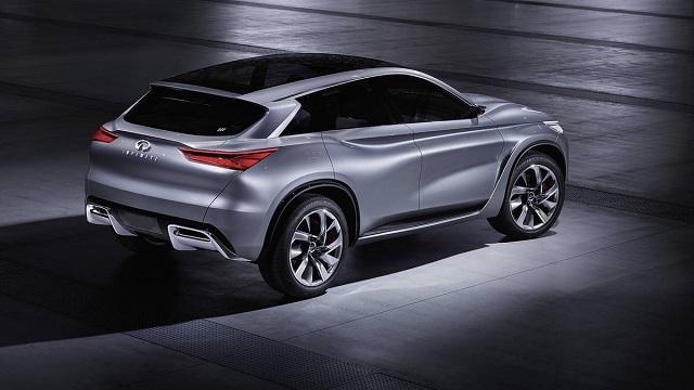 2019 Infiniti QX70 rear
