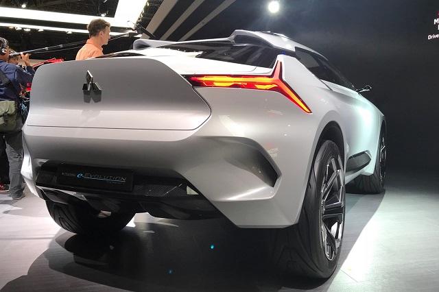 2019 Mitsubishi Evolution rear view