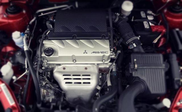 2019 Mitsubishi Galant engine
