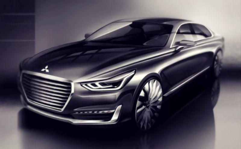 2019 Mitsubishi Galant will get a hybrid engine - Nissan