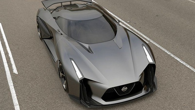 2019 Nissan GT-R Nismo top view