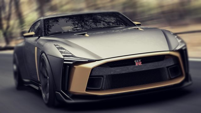 2019 Nissan GT-R50 front