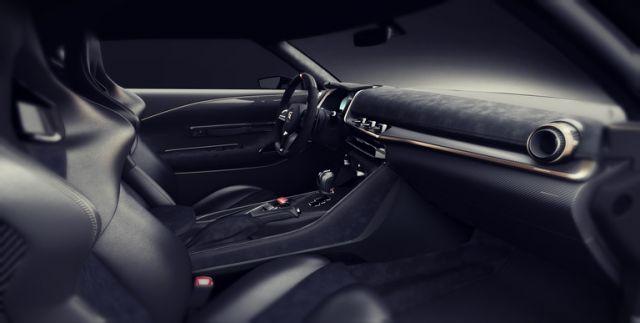 2019 Nissan GT-R 50 interior