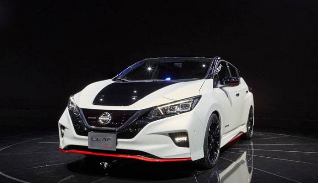 2019 Nissan Leaf Nismo front view
