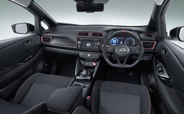 2019 Nissan Leaf Nismo interior