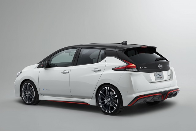 2019 Nissan Leaf Nismo rear view