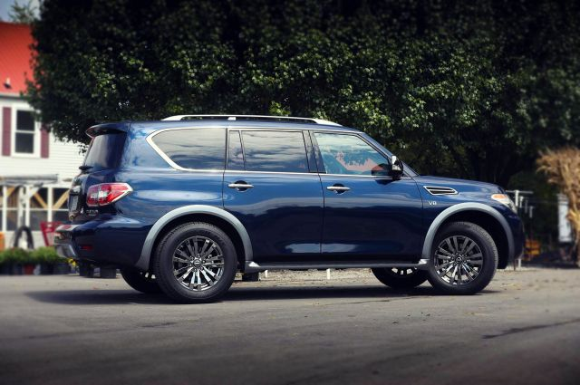 2019 Nissan Patrol side