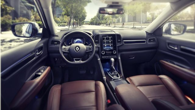 2019 Renault Koleos interior