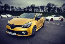 2020 Renault Clio RS model