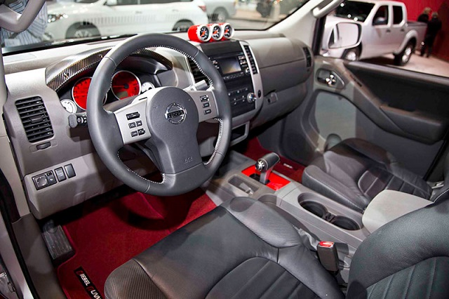 Frontier Diesel Runner concept interior