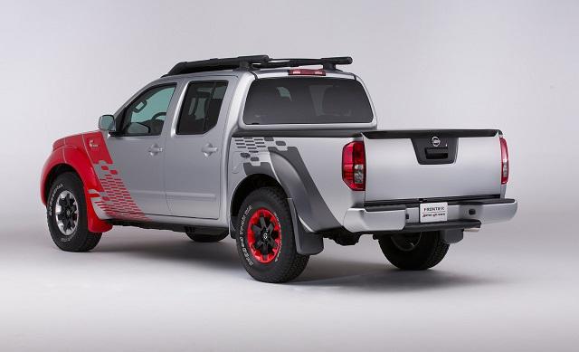 Frontier Diesel Runner concept rear view