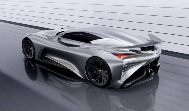 Infiniti Vision GT Supercar side view