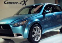 Mitsubishi concept CX front