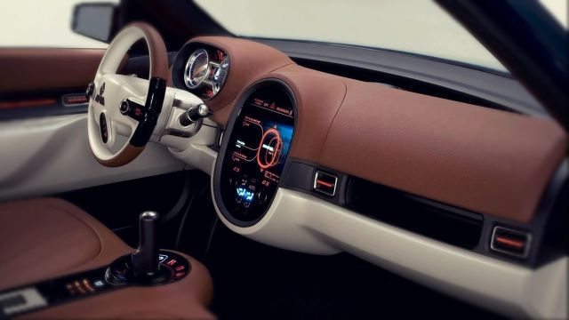 Mitsubishi concept CX interior