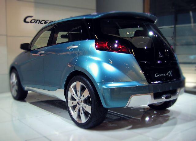Mitsubishi concept CX rear
